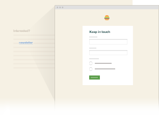 Hosted form